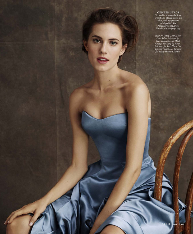 Allison Williams for Town & Country Magazine-6