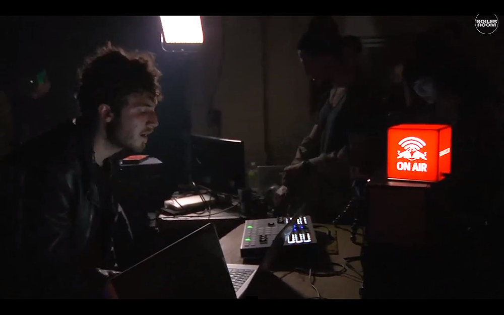darkside live in the boiler room nyc nicolas jaar s boiler room set at clown amp sunset nyc 27129