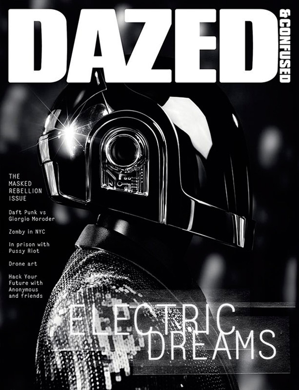 Daft Punk for Dazed Confused June 2013