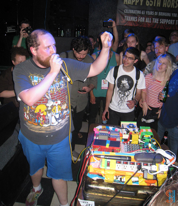 Dan Deacon at Horseshoe Tavern NXNE 2013-2