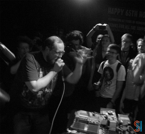 Dan Deacon at Horseshoe Tavern NXNE 2013-3