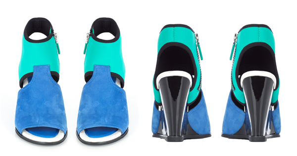 Kenzo Delight Wedged Sandals-3