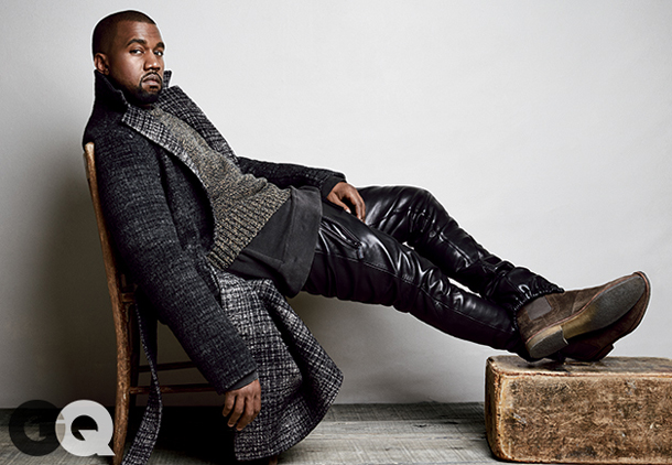 Kanye West for GQ August 2014