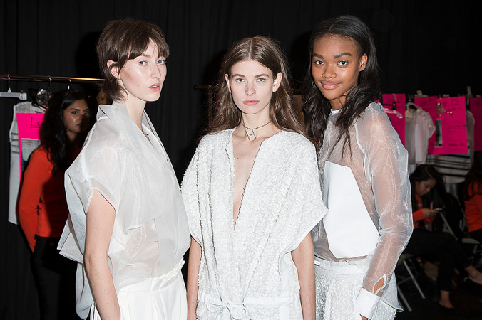 Toronto Fashion Week Beauty Melissa Nepton SS15