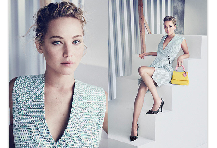 Jennifer Lawrence for Be Dior Campaign