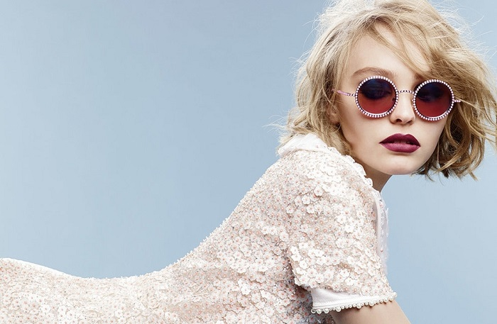 Chanel Eyewear Campaign Featuring Lily-Rose Depp-2