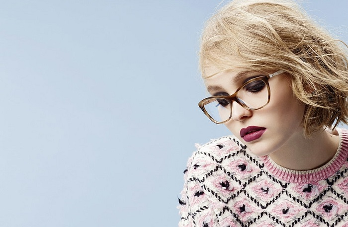 Chanel Eyewear Campaign Featuring Lily-Rose Depp-3