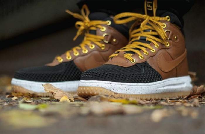 670f42a23d8716 Nike Lunar Force 1 Duckboot in  British Tan