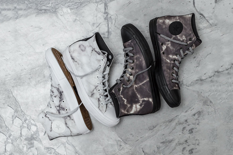 """2e38f1e0d1031 Converse Share s the Chuck Taylor All Star II """"Marble"""" Pack"""