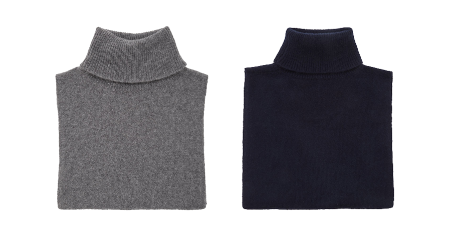 Cos Roll-Neck Cashmere Collar, $62