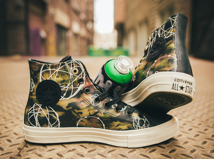 2d9dce18c77091 A Closer Look  Futura x Converse Chuck Taylor All Star II