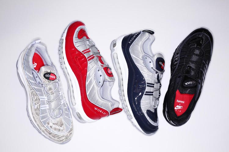 5230be3fd8c7 Supreme x Nike Air Max 98 Spring 2016 Collection
