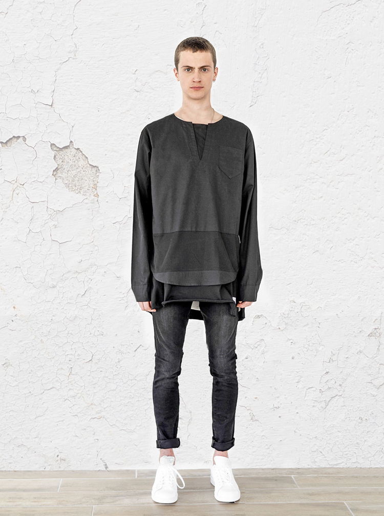 kurta-luxe-shirt-black-profound-aesthetic-spring-lookbook1