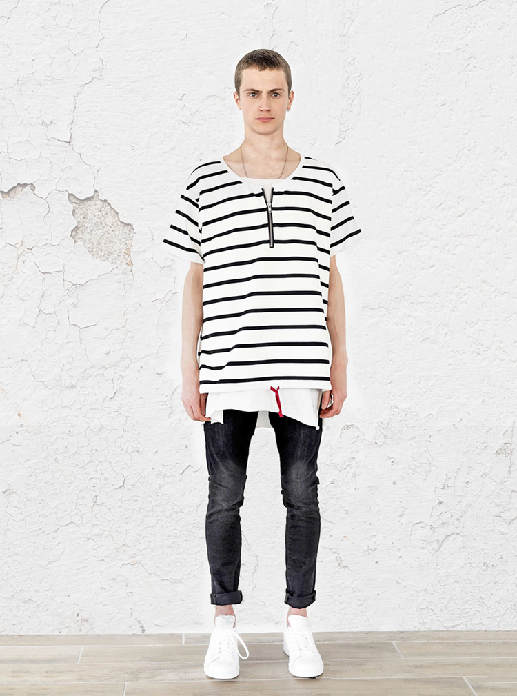 neutral-stripe-half-sleeve-pullover-shirt-profound-aesthetic-spring-lookbook1