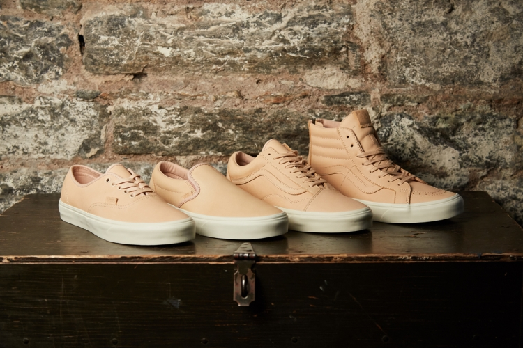 249f57df250fe7 Vans Veggie Tan Leather Collection