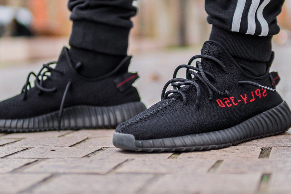 "31d65bf31e4 Another Yeezy Boost 350 V2 ""Black Red"" Is on Its Way"