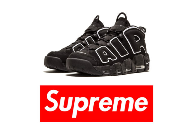 Supreme x Nike Air More Uptempo  6ab539809