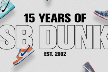 "Nike SB Launches ""15 Years of SB Dunk"" Campaign"