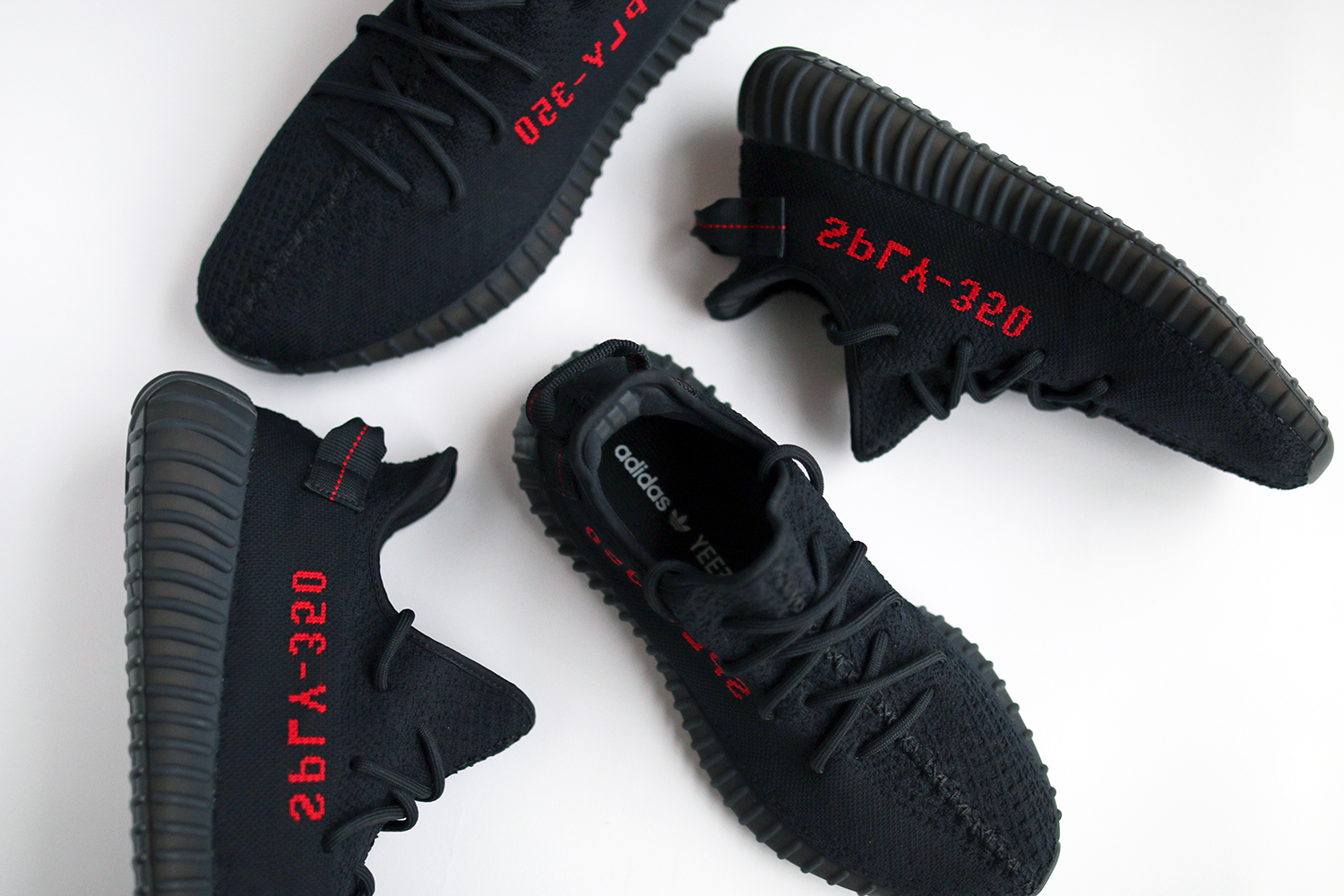 39a2927381b Closer Look  Yeezy Boost 350 V2  Core Black Red