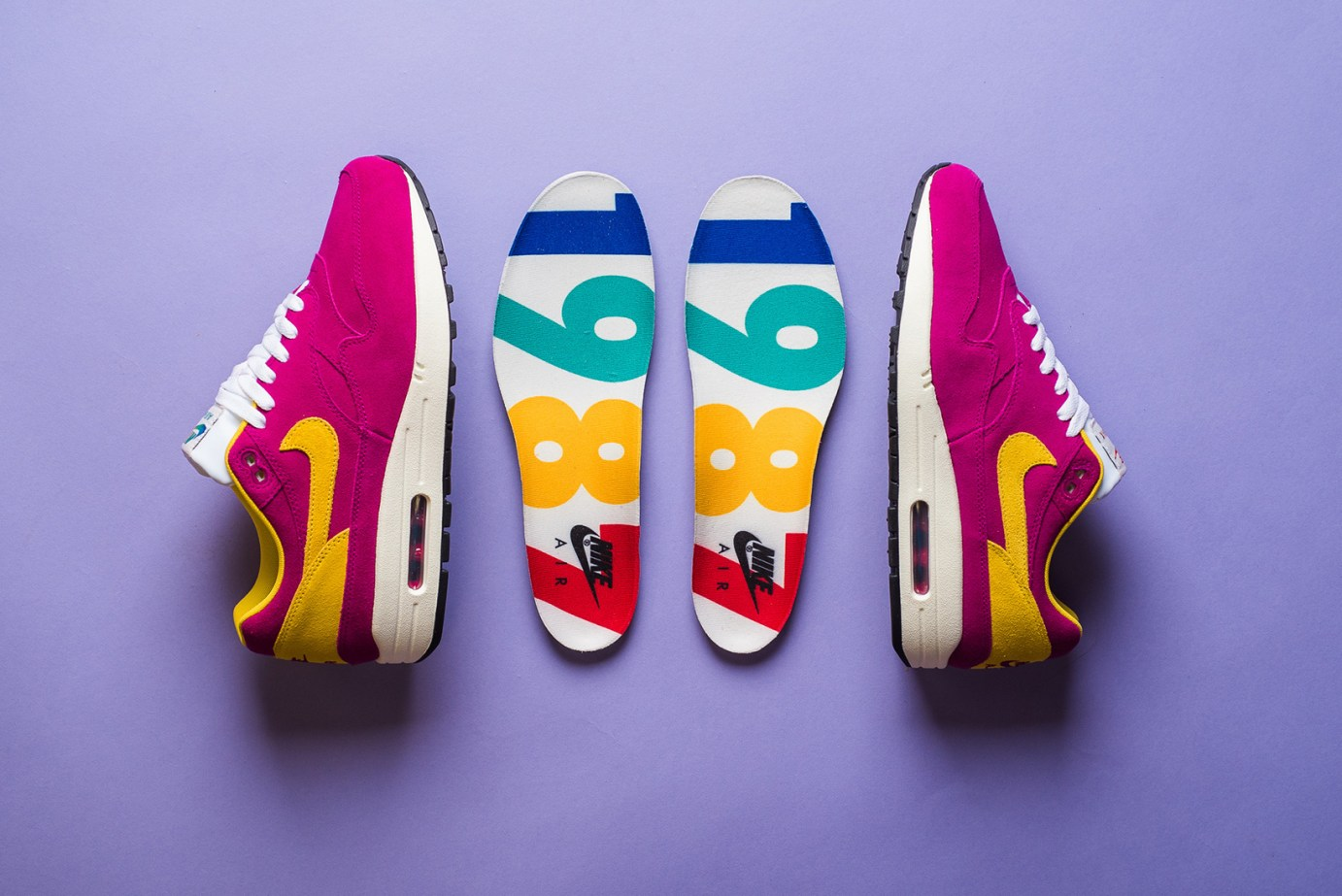 "reputable site 9db9f b4a21 Nike Unveils The Air Max 1 Premium in ""Dynamic Berry"""