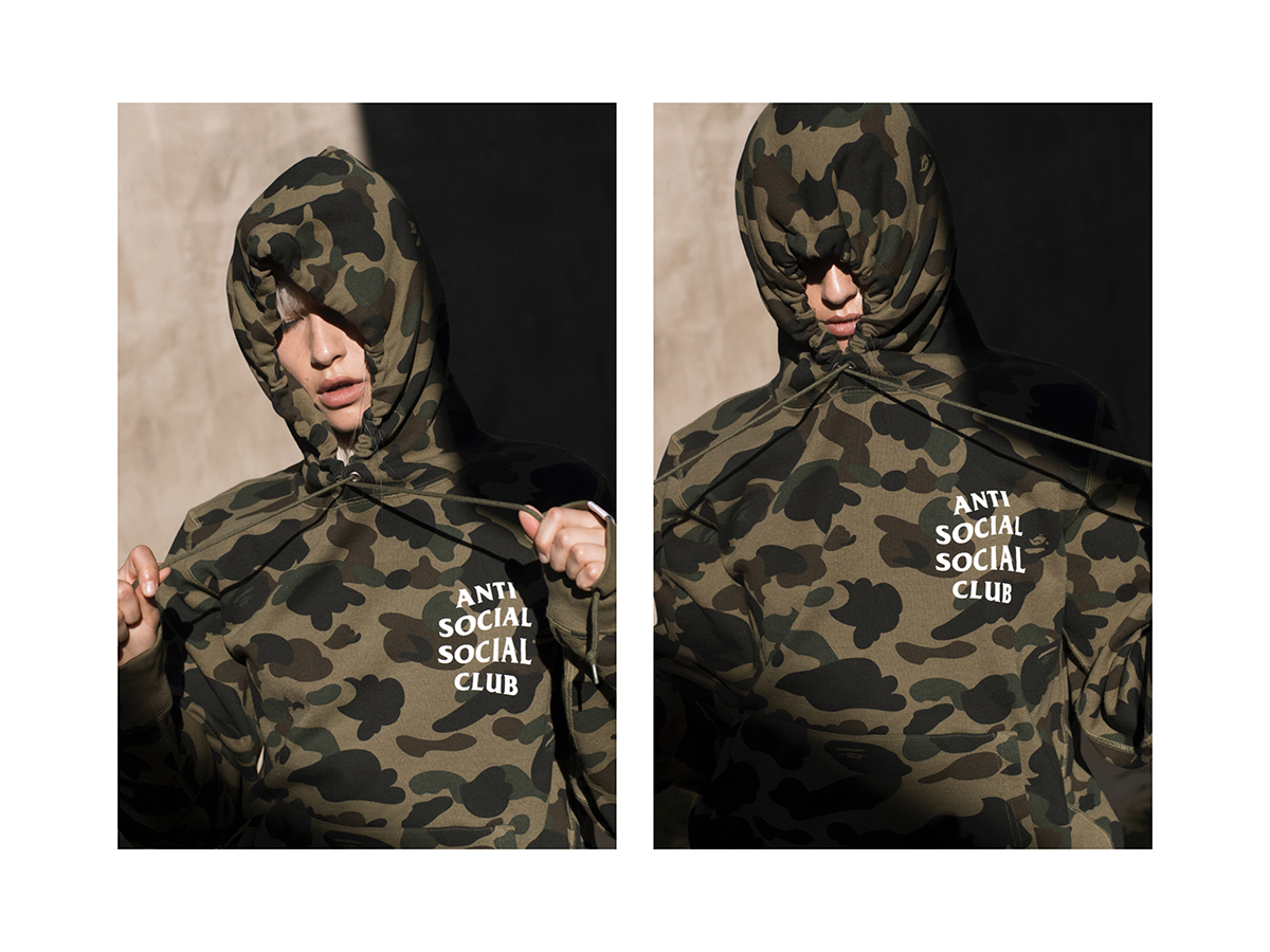 41bd41db4e13 Bape x Anti Social Social Club Lookbook