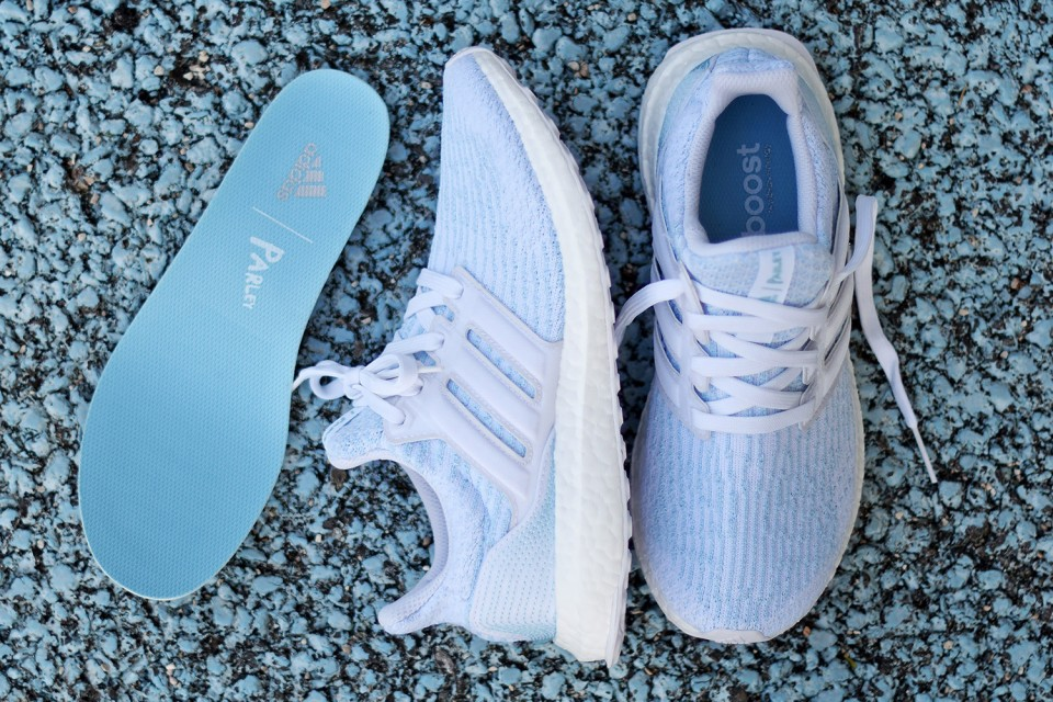 "18fde915a2d7be adidas and Parley Announce ""Ice Blue"" Ultra Boost 3.0"