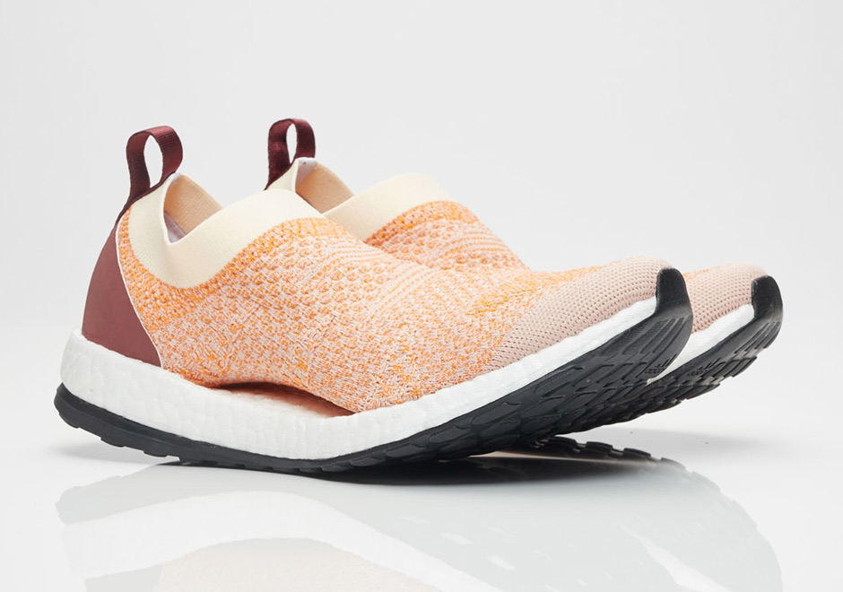 "f15855361 Stella McCartney and adidas Release Pure Boost X ""Peach Rose"""