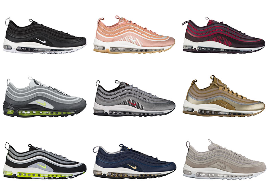 size 40 55371 927e4 ... cheap nike unveils 20 new colourways of the air max 97 d2bdf 4bce5