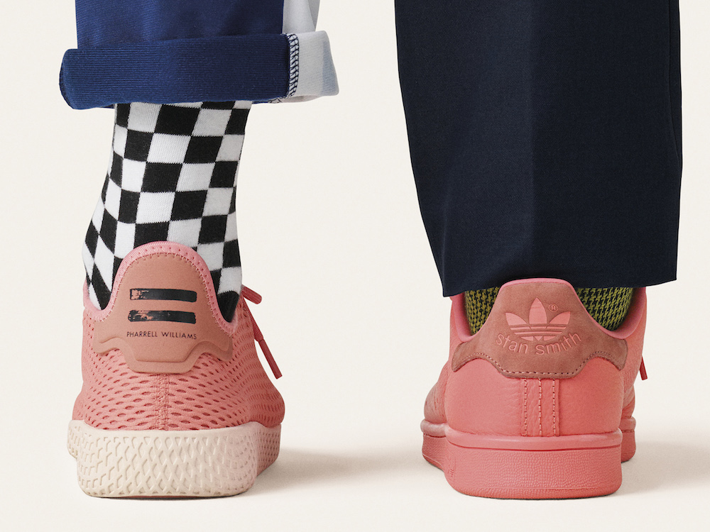 "b9054e0737d13 adidas Originals and Pharrell Launch Stan Smith and Tennis HU ""Pastel Pack"""