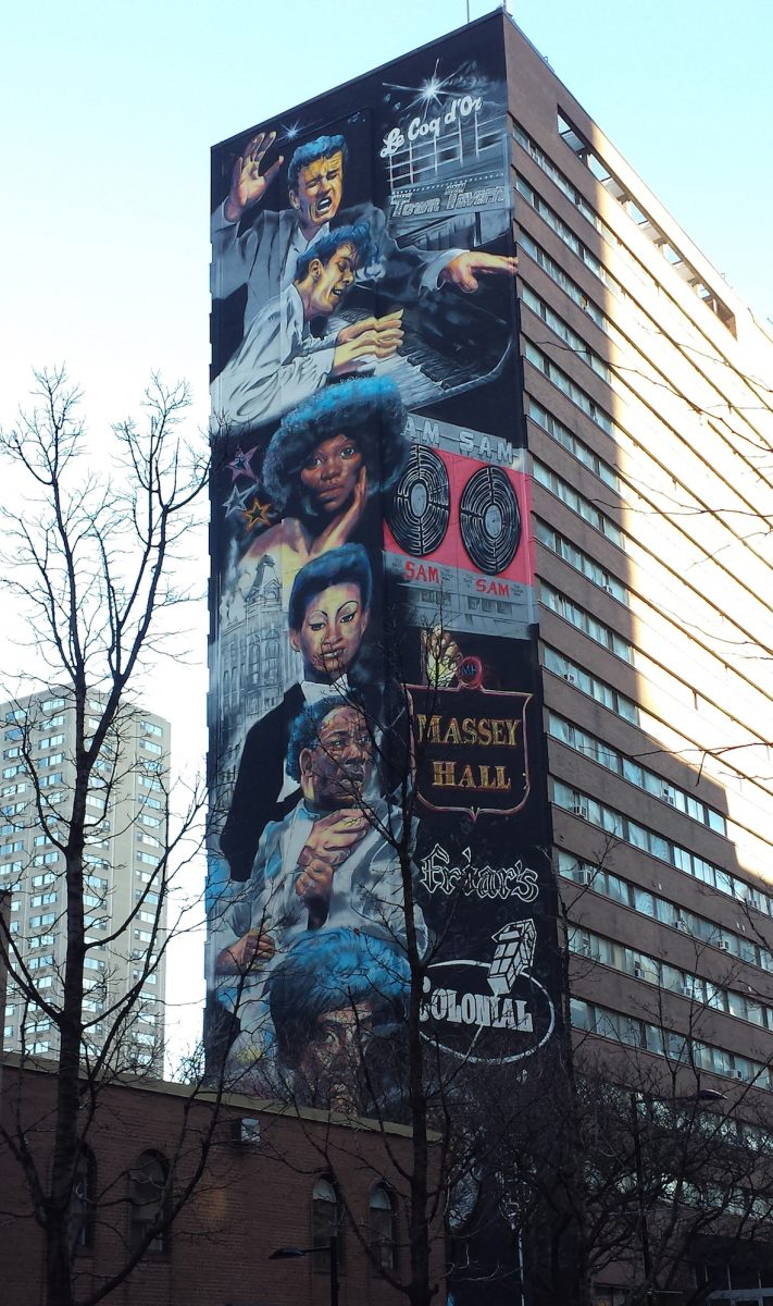 Artist spotlight adrian hayles his yonge street murals for A perfect day mural