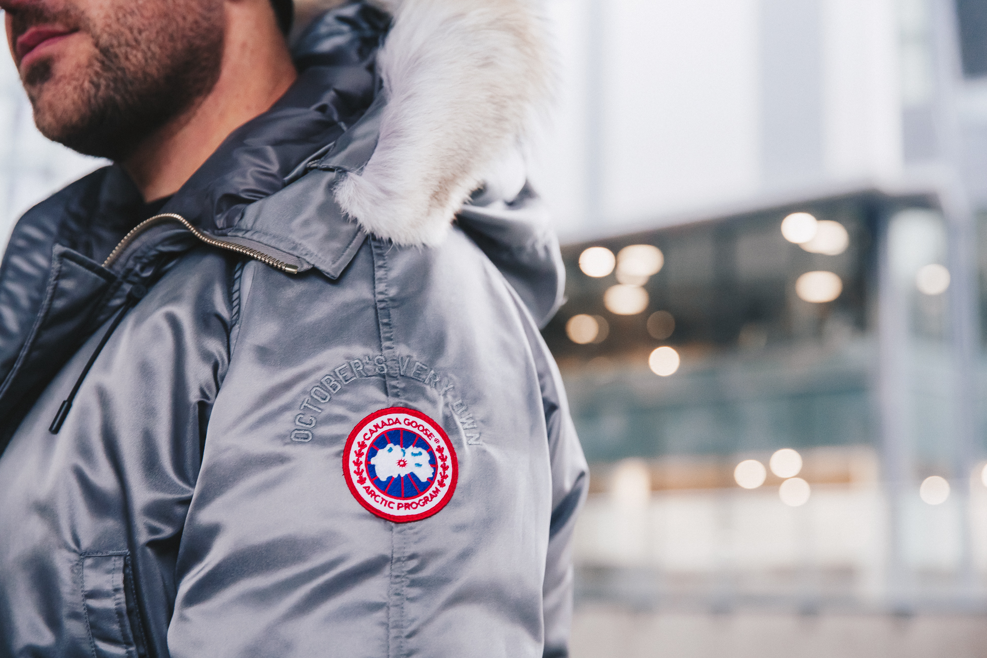 9fe3251b452c3 A Closer Look  October s Very Own x Canada Goose Winter 2017 Collection