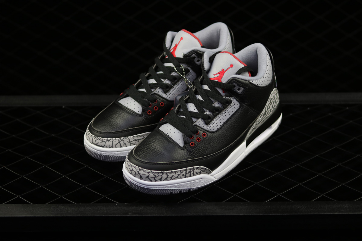 Air Jordan 3 Retro OG Black Cement 2018 – Feb 17. The Air Jordan 3 is  expected to be one of the season's hottest releases featuring classic Black  tumbled ...