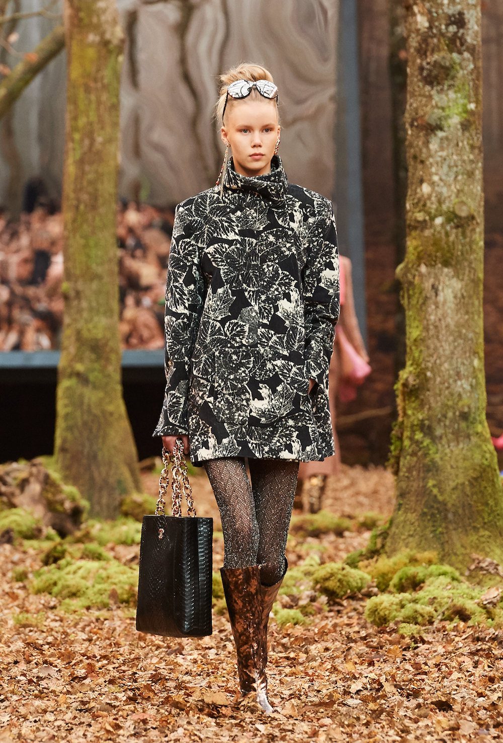 Chanel Goes Into The Woods For Fall 2018 Runway Show