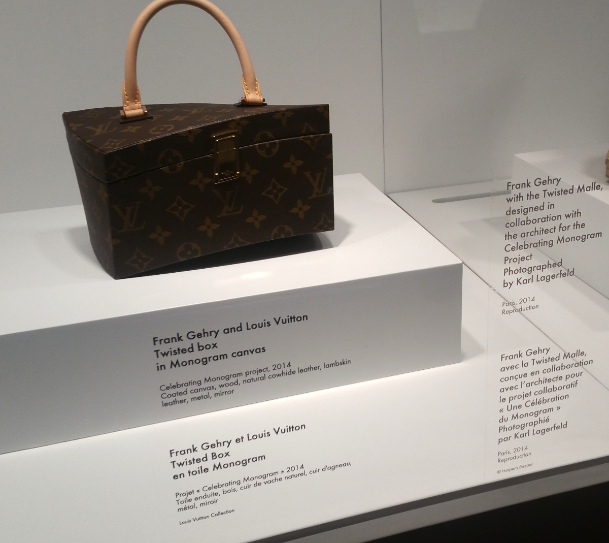 1f226dd44656b3 The Frank Gehry x Louis Vuitton  Twisted Box  was part of the Monogram  project